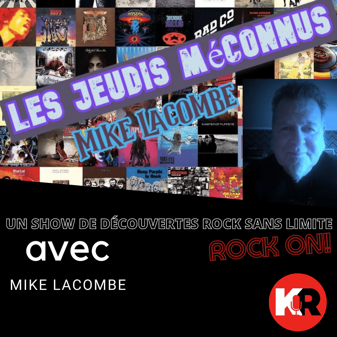 cd cover for the show les jeudis meconnus with a lots of cd cover and the host of the show