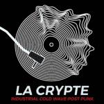 logo la crypte for the goth and dark ebm radio channel
