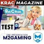 Test du jeu My Universe – Pet Clinic Cats & Dogs (PS4, Switch, PC, Mac)