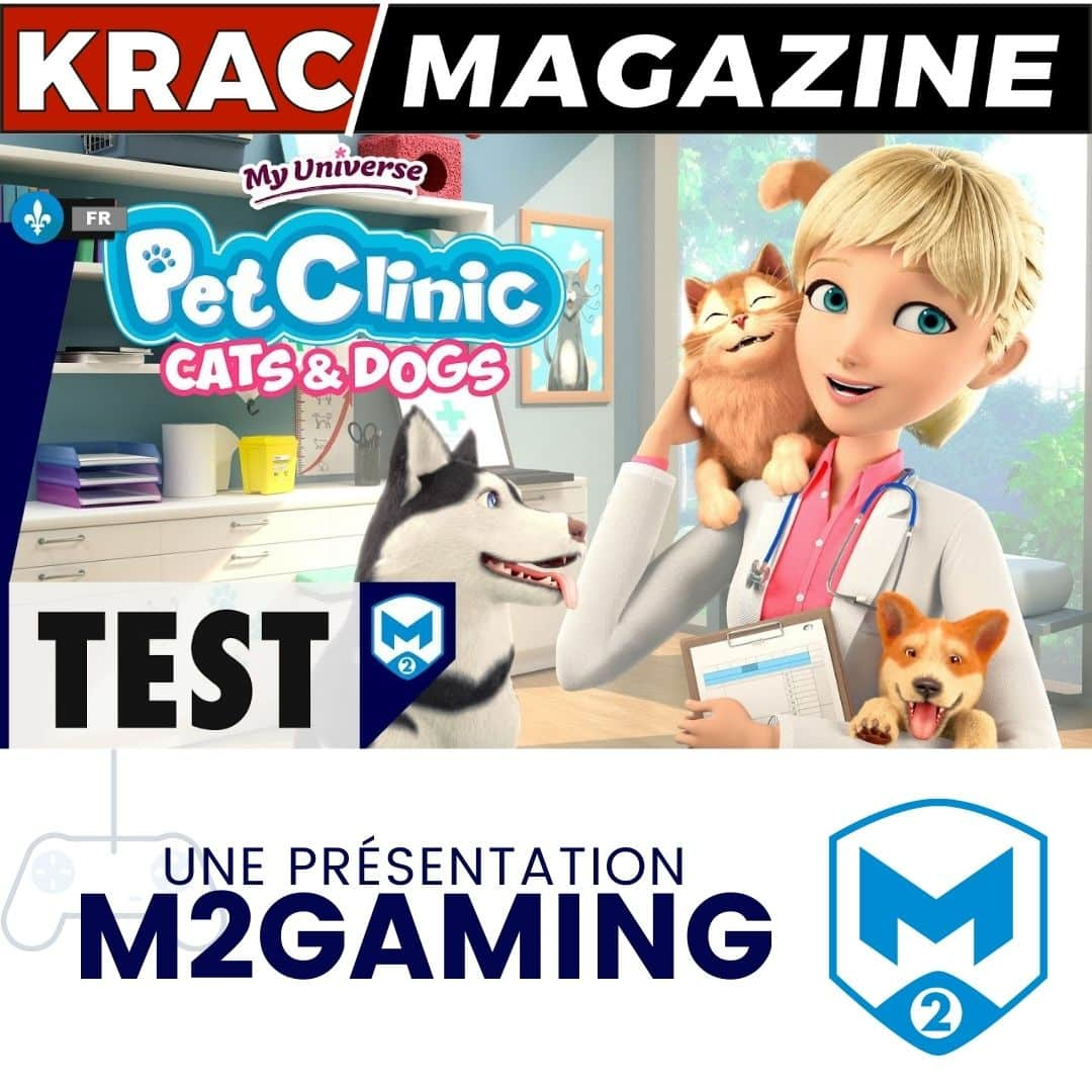 Pet Clinic Cats & Dogs M2gaming