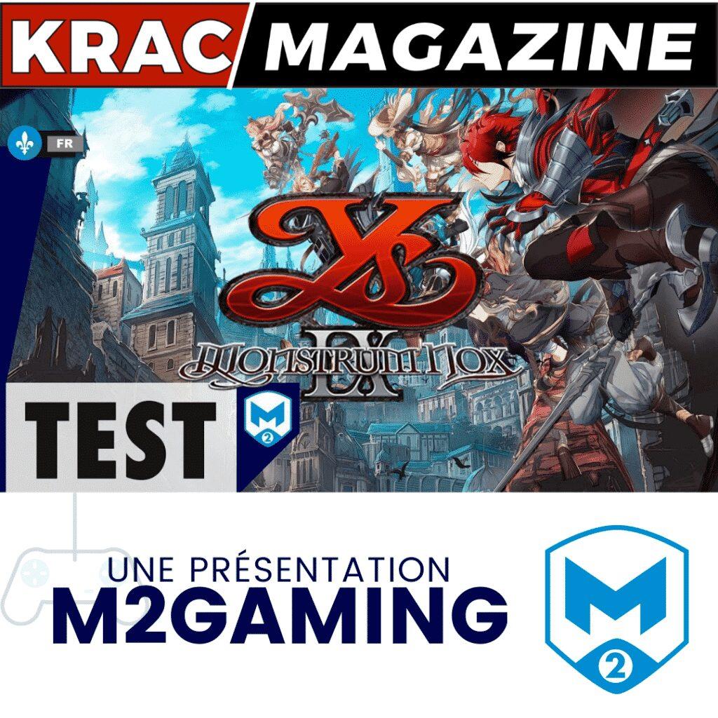 Ys IX : Monstruous Nom, Jeu, Game, M2gaming, Test
