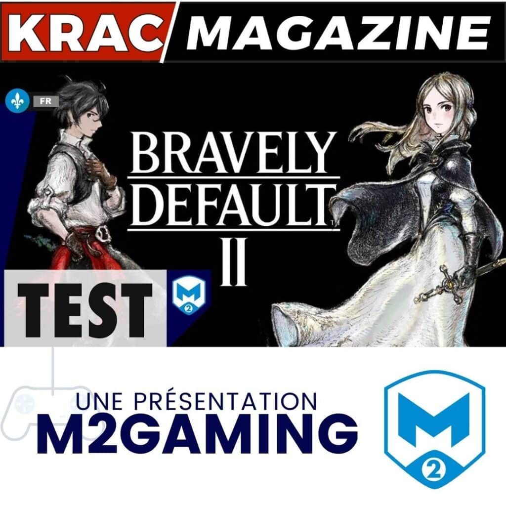 Bravely Default II, m2gaming