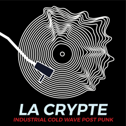 logo la crypte for the goth and dark ebm radio channel